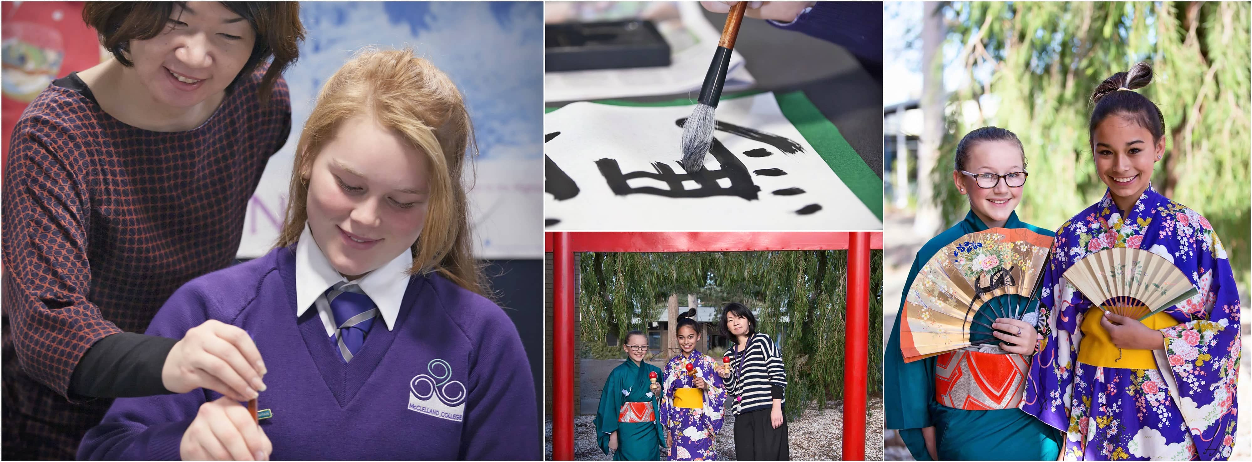 We have an extensive Japanese Language and Cultural Experience Program from Year 7 to Year 12